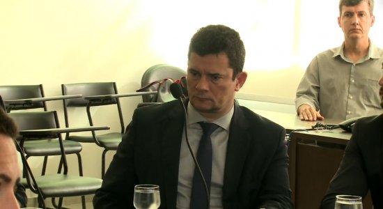 Confira como foi a visita de Sergio Moro ao Recife