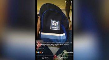 O jovem vende o item por R$ 30