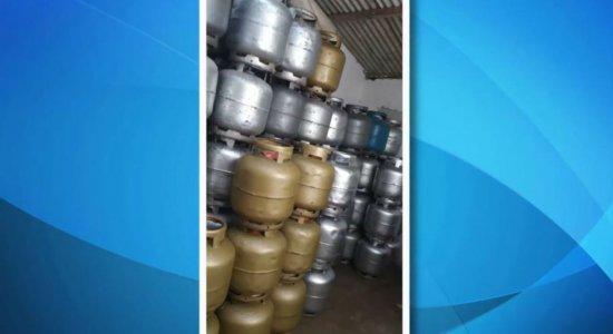 Operação mira venda clandestina de gás de cozinha no Cabo