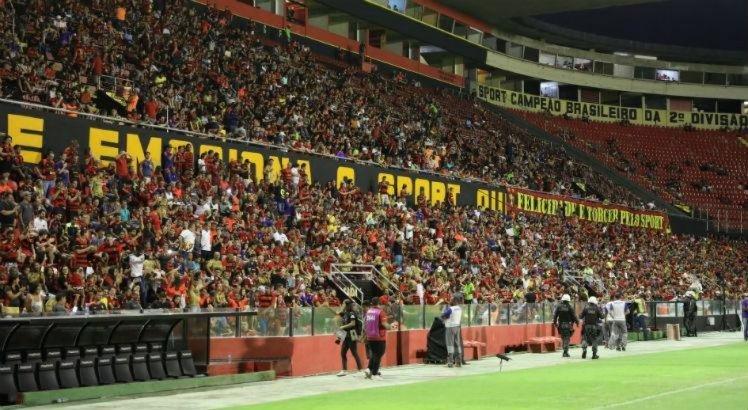 Sport divulga nova parcial com 10 mil ingressos vendidos para a próxima partida