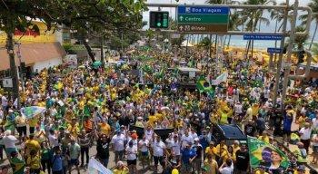 No Recife, os atos serão concentrados na Avenida Boa Viagem, na Zona Sul