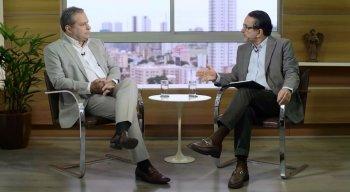 Deputado Tadeu Alencar é entrevistado por Antonio Lavareda