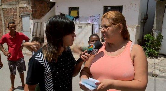 A Turma do Barra foi conferir a situação dos moradores do curado IV