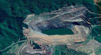 A barragem de rejeitos, de responsabilidade da mineradora Vale, corre o risco de rompimento