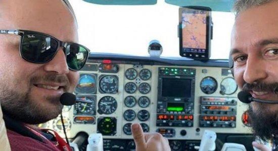 Saiba quem eram pilotos que morreram em avião com Gabriel Diniz