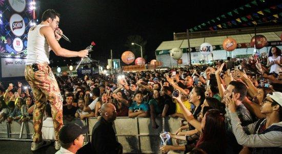 Último show de Gabriel Diniz no São João de Caruaru foi em 2018