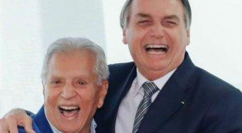 Carlos Alberto se encontrou com Bolsonaro