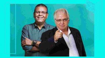 Apresentadores Ciro Bezerra e Paulo Roberto
