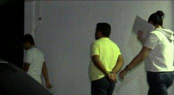 """""""Batatinha"""", foi preso na própria casa e levado para a delegacia da cidade de Caruaru"""