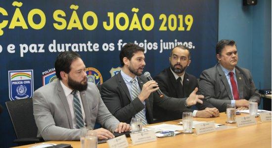 Segurança no São João: SDS investirá R$ 2,5 milhões