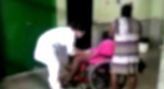 Caso de grávida que deu a luz em cadeira de rodas será investigado
