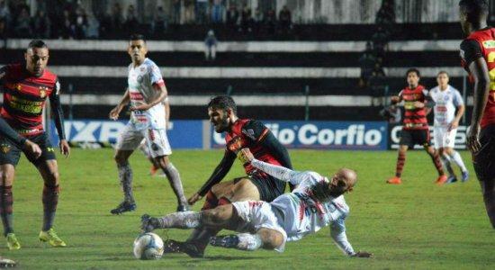 De virada, Sport perde para o Operário no Paraná; veja os gols