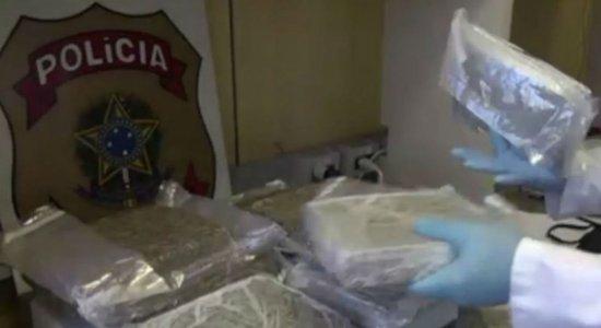Mulher é presa com 30 kg de maconha no Aeroporto do Recife