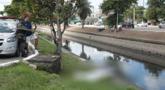 Idoso desaparecido é encontrado em canal da Avenida Agamenon Magalhães