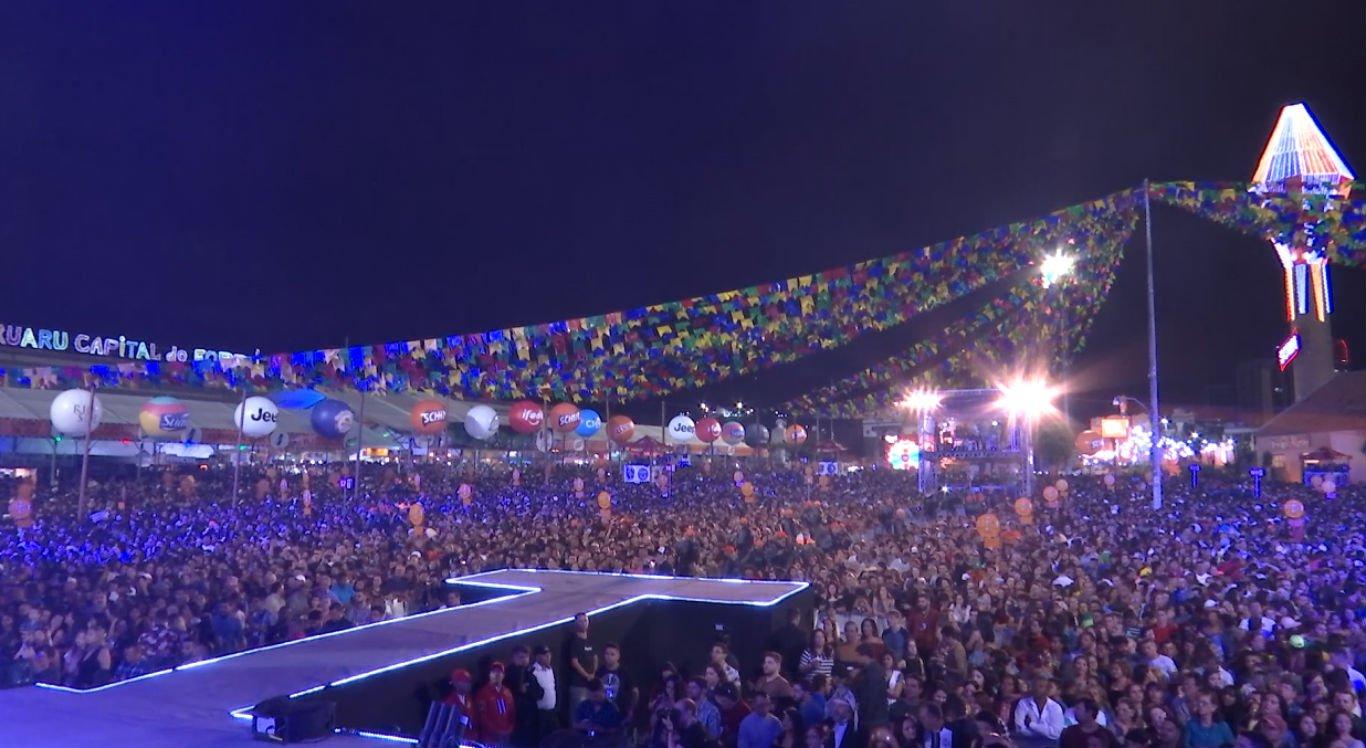 Primeiro fim de semana dos festejos juninos de Caruaru foi considerado tranquilo