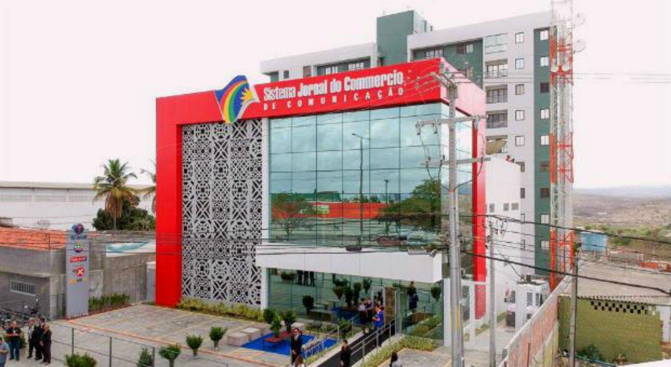Sede do Sistema Jornal do Commercio Interior, em Caruaru