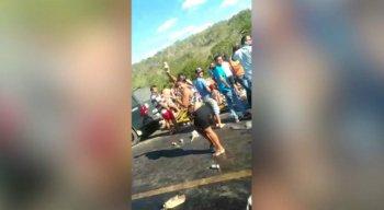 Um vídeo foi divulgado mostrando a ação, que aconteceu na sexta-feira (31)
