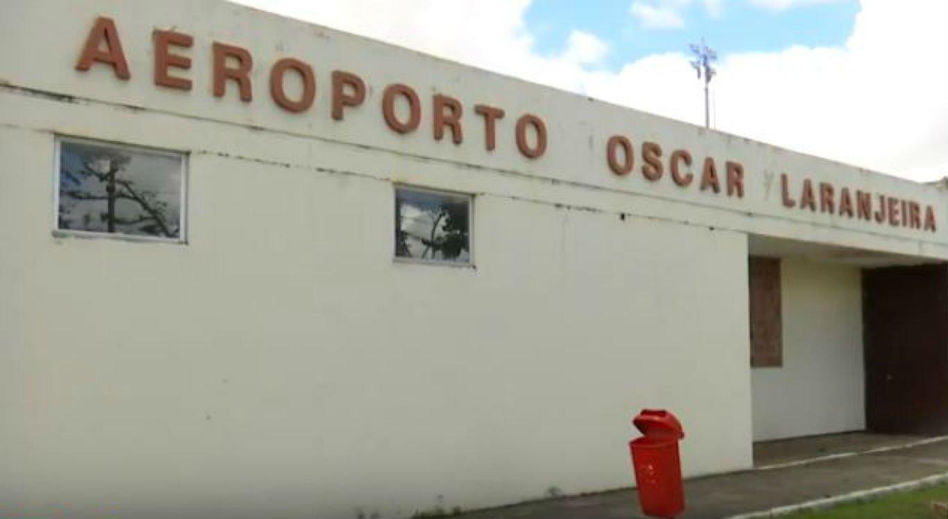 Aeroporto Oscar Laranjeira, em Caruaru, continua com diversos problemas de estrutura