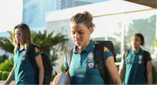 Seleção brasileira segue para França, sede da Copa do Mundo Feminina