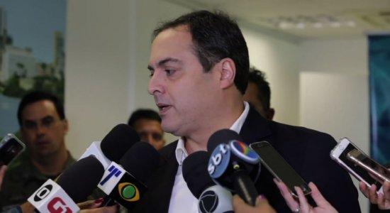 Paulo Câmara sobre redução de homicídios: 'Não tem o que comemorar'