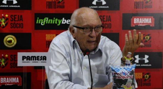 Presidente do Sport revela arrependimento da atual gestão