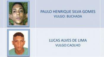 Lucas Alves e Paulo Henrique estão foragidos