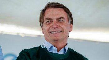 O presidente Jair Bolsonaro se pronunciou nessa quarta-feira (5), em Aragarças (GO)