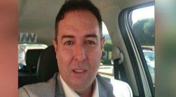 O advogado Luciano Marques de Souza, de 48 anos, foi baleado quando quando saía de casa
