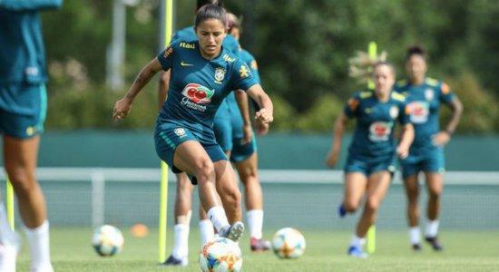 Numeração oficial da seleção brasileira feminina é divulgada