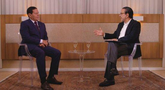 20 Minutos: Mourão fala sobre o governo Bolsonaro e o Nordeste