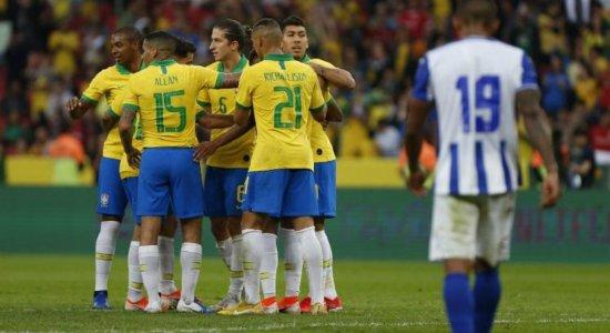 Brasil bate Honduras por 7 a 0 em último amistoso antes da Copa América