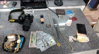 Alguns bens que foram levados pelo trio foram recuperados