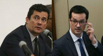 Conversas entre Moro e Dallagnol foram divulgadas pelo The Intercept