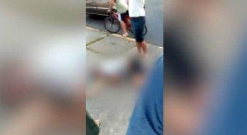 A polícia foi acionada e conseguiu prender Almir Bezerra do Nascimento Junior, de 20 anos