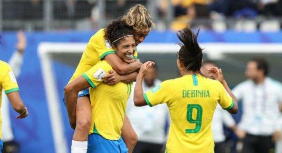 Resultados favorecem o Brasil na Copa do Mundo de Futebol Feminino