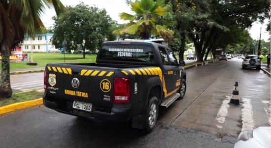 Após ameaça de atentado, segurança na UFPE e UFRPE é reforçada