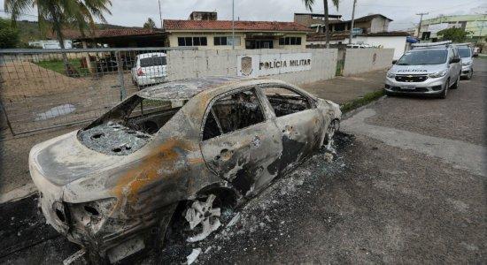 Base da Polícia Militar em Timbaúba é atacada por grupo armado