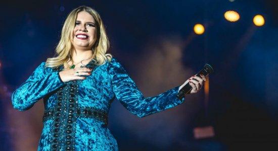 Marília Mendonça é atração em show no Dia dos Namorados em Caruaru