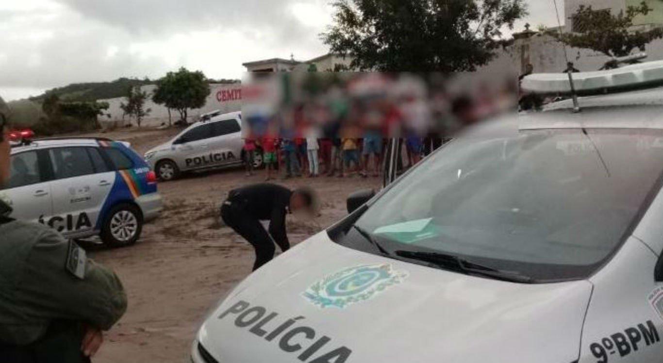 Crime aconteceu em frente ao cemitério do Sítio Olho D'Água, na zona rural de Brejão