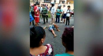 O crime aconteceu na Rua Saldanha Marinho