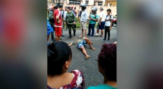 Tentativa de assalto termina com suspeito ferido na Zona Sul