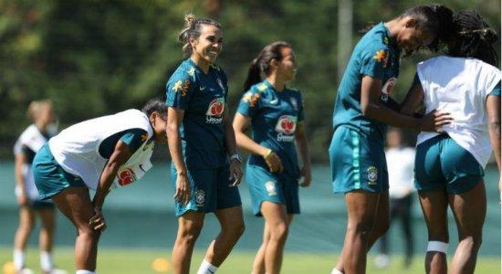 Com Marta, Brasil volta a sorrir para enfrentar uma Austrália ferida