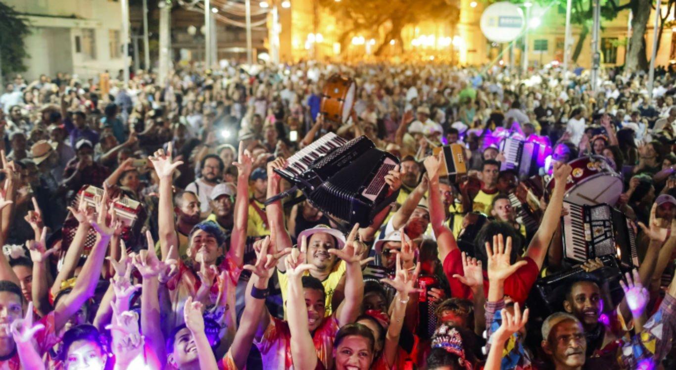 Bairro do Recife recebe 15ª Caminhada do Forró nesta quinta-feira (13)