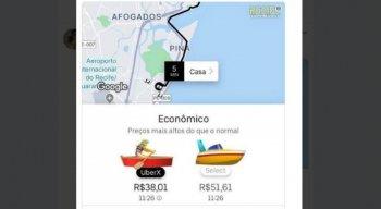 A previsão é de chuvas moderadas a fortes no Grande Recife e na Zona da Mata