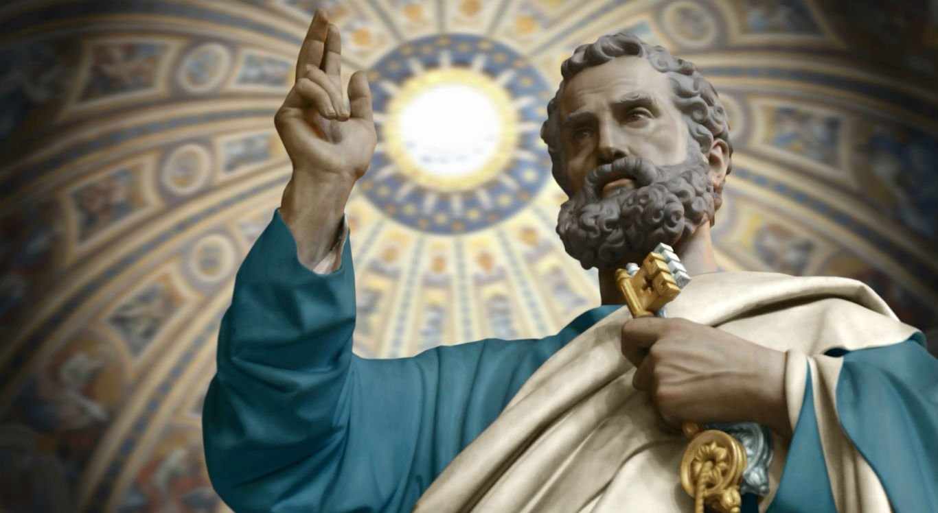 São Pedro é o santo responsável por
