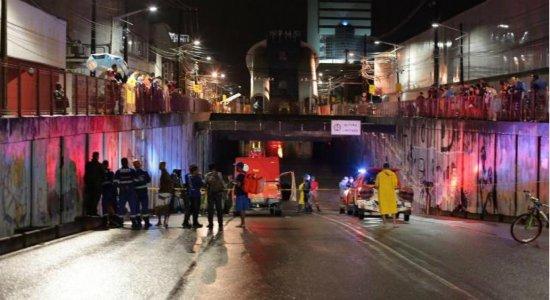 Após depoimento, motorista de acidente no túnel do Pina é liberada