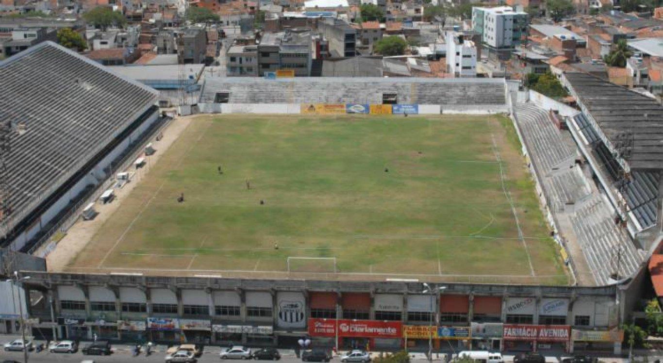 Estádio Luiz José de Lacerda, mais conhecido como 'Lacerdão', é a casa do Central e tem capacidade para mais de 19 mil pessoas.