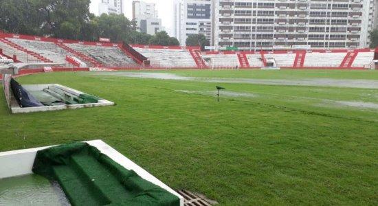 Náutico tem partida adiada por conta das chuvas no Recife