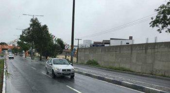 Chuvas também atinge a cidade de Caruaru