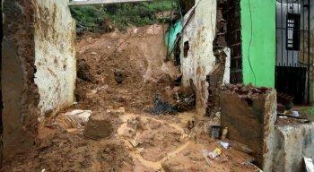 Camaragibe foi atingida por fortes chuvas